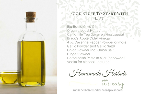 homemade-herbal-food-list
