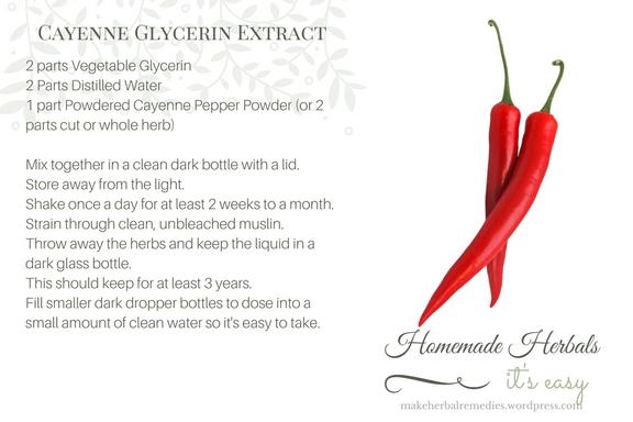 Homemade Herbals Recipe Cayenne Glycerine Extract.jpg