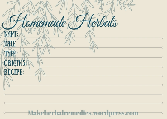 making-herbal-remedies-label