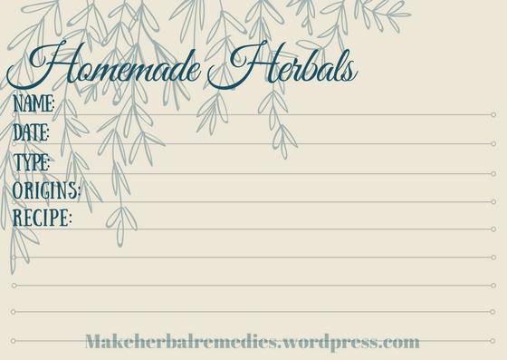 making-herbal-remedies-label